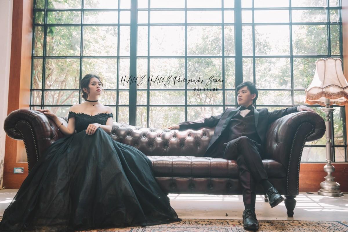 黑禮服、毛小孩、Baby 婚紗攝影作品