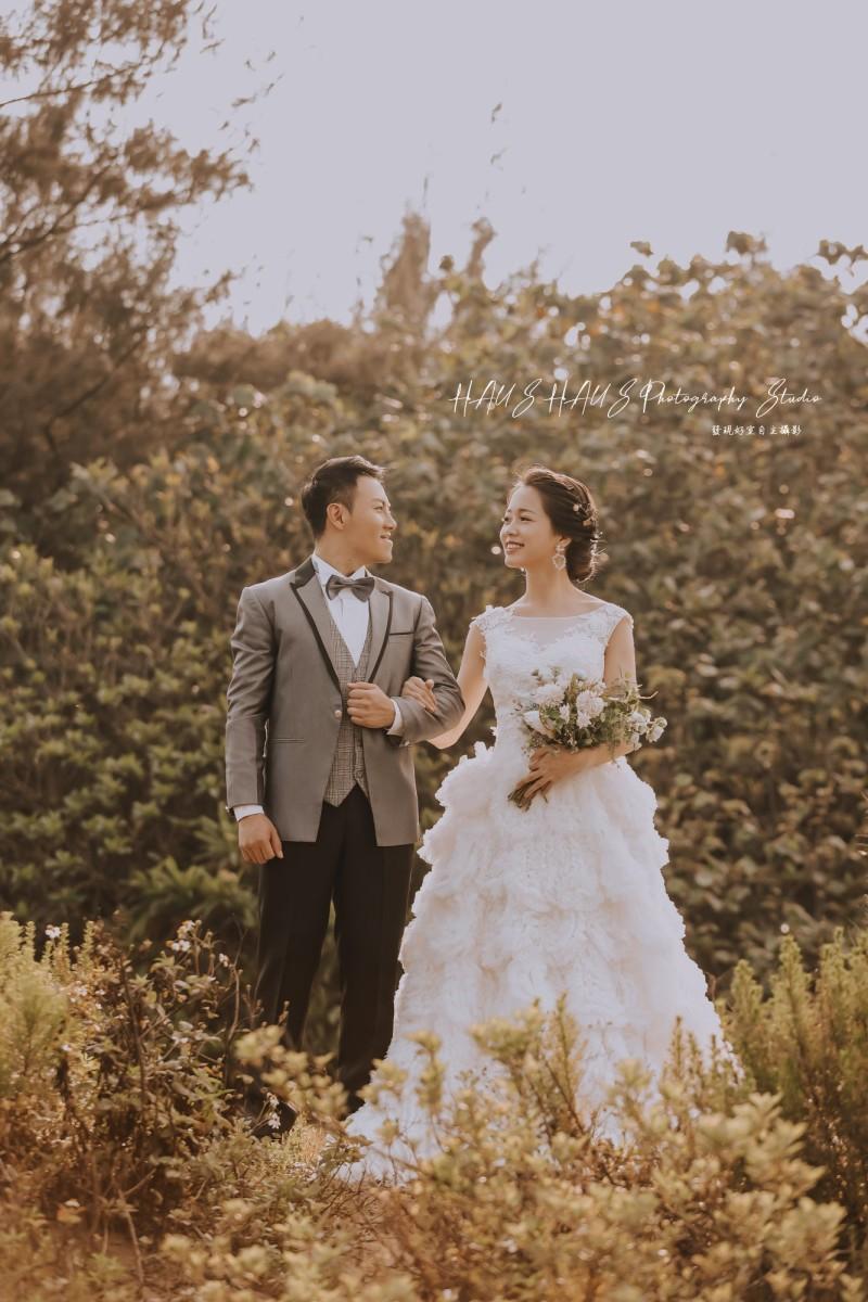 韓式風格婚紗攝影作品