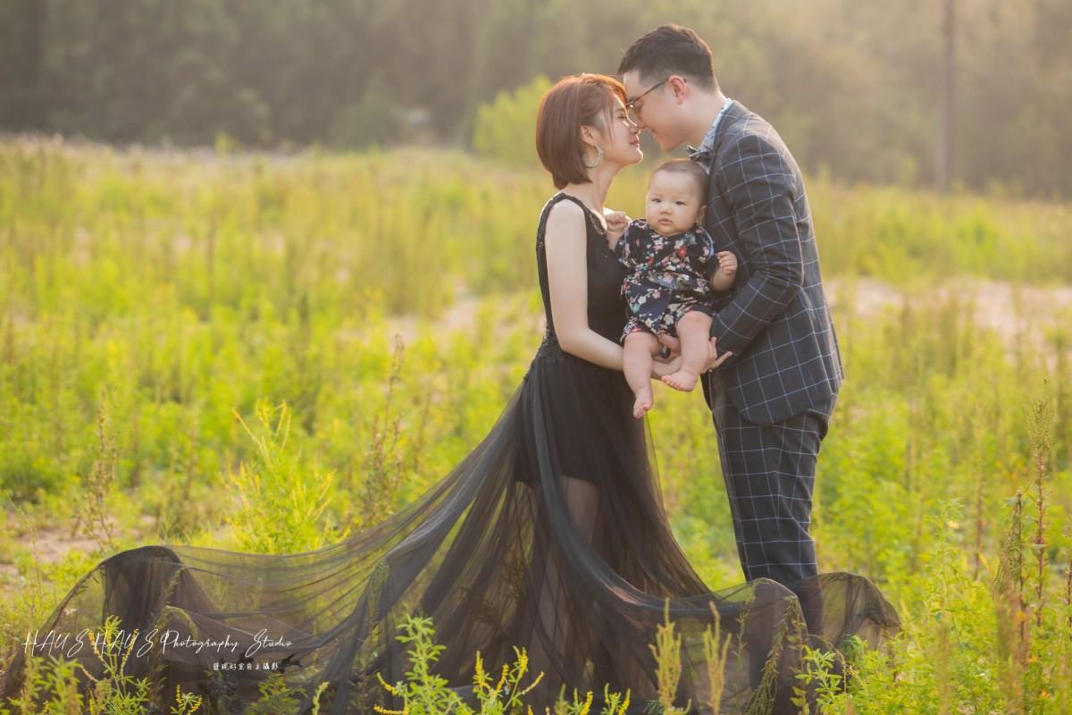 新生兒婚紗攝影作品