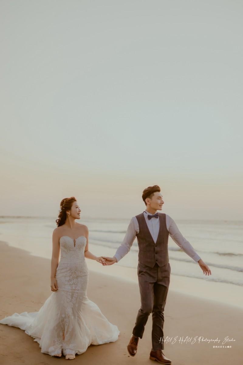 海邊婚紗攝影作品