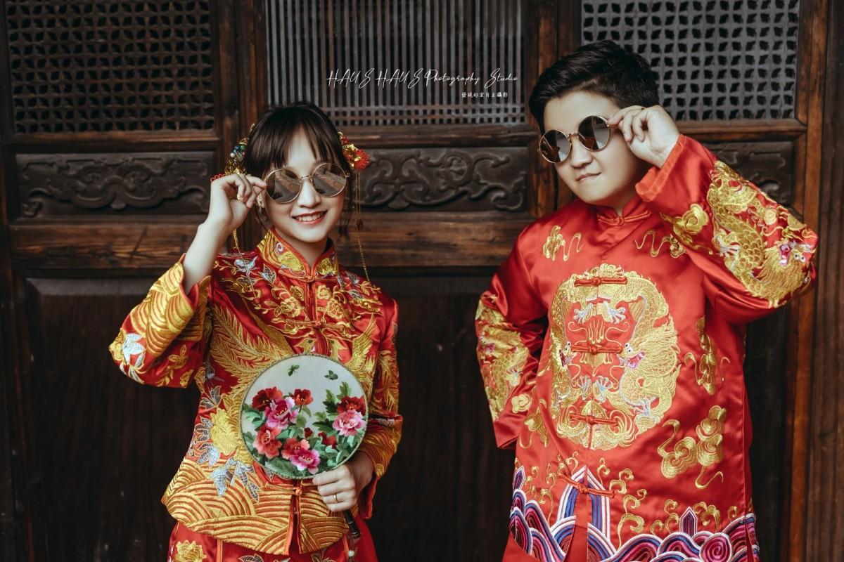 中式婚紗攝影作品
