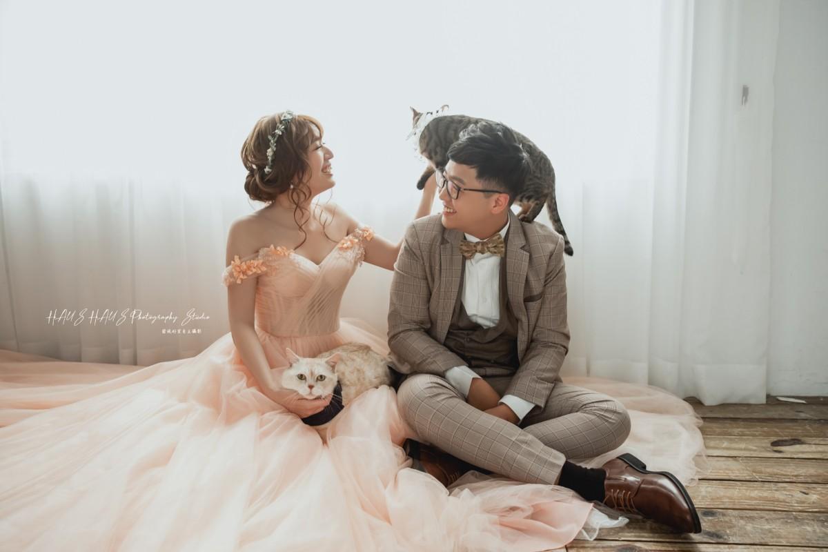 毛小孩婚紗攝影作品